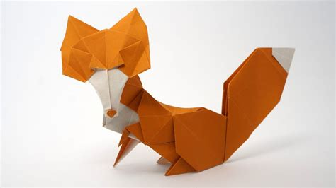 Origami Fox Tutorial - origami vixen fox rom 225 n d 237 az not a tutorial