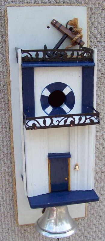 Funky Door Bells by Door Bell Birdhouse Backwater Studio Funky Functional Folk
