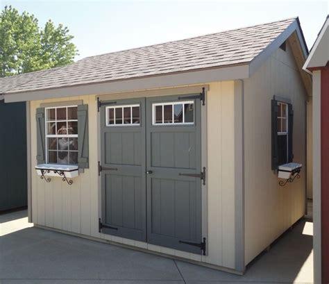 planos de cobertizos gratis amish built ez fit heritage shed kit garden sheds jardines