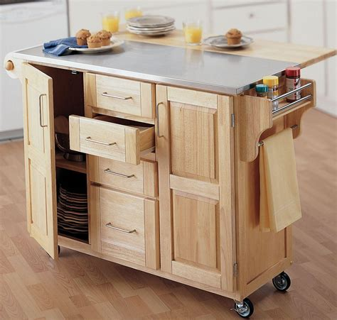mobile islands for kitchen small portable kitchen island ideas decor trends