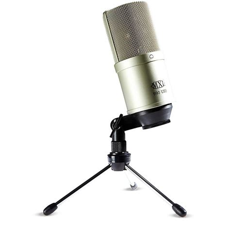 condenser microphone usb mxl 990 usb powered condenser microphone musician s friend
