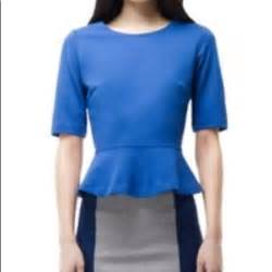 Tops Club by 38 Club Monaco Tops Club Monaco Cobalt Blue Bailey