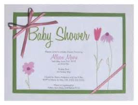 diy baby shower invitations template templates