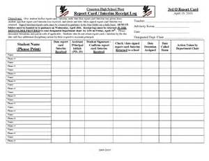 high school report card templates pin report card template doc on