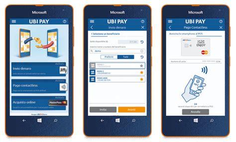 ubi app scarica l app uby pay e vinci un lumia 535 al giorno