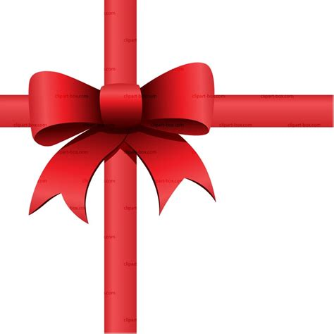gift bow clipart clipart suggest