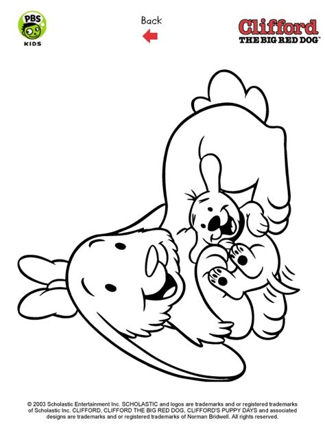 clifford puppy coloring page clifford printables puppy coloring pages pbs kids