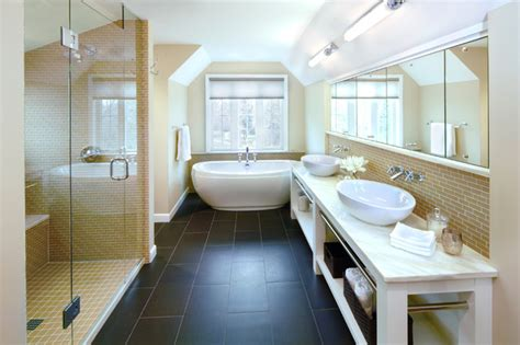 Modern Traditional Bathrooms by Modern Classic Traditional Bathroom Minneapolis By