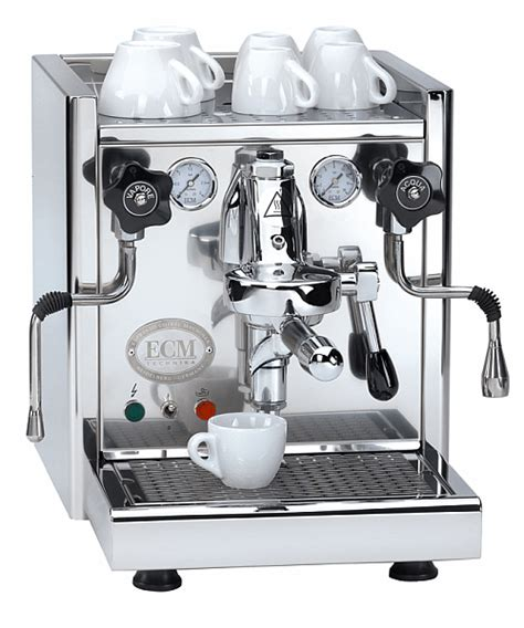 Coffee Maker Ecm 1250 ecm espresso coffee machines manufacture kaffee erlebnis