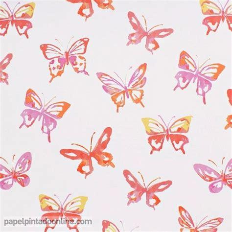 imagenes mariposas de papel papel pintado infantil summer c 7275 01 01 con dibujos