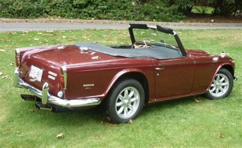 250 tr for sale bat exclusive restored 1968 triumph tr 250 bring a trailer
