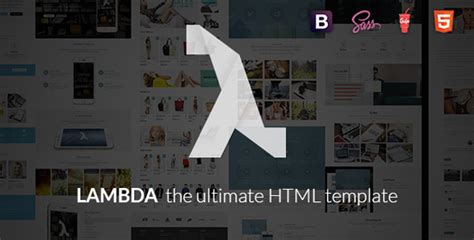 themeforest lambda top 15 html templates that can be used to develop business