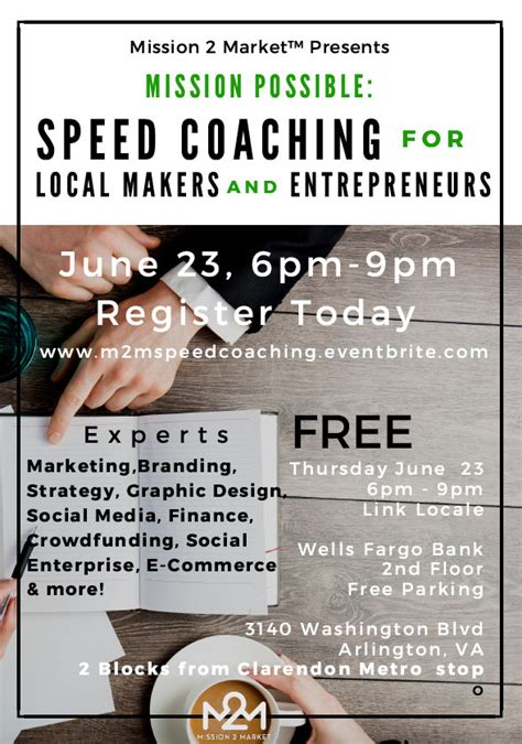 coaching for entrepreneurs how coaching can improve your bottom line books mission possible free speed coaching for local makers and