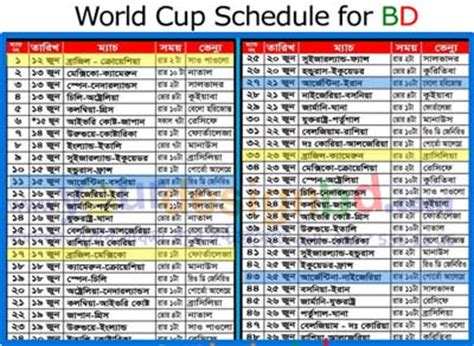 Prepare Resume Online by Fifa World Cup Schedule Bangladesh Time 2014 Archives