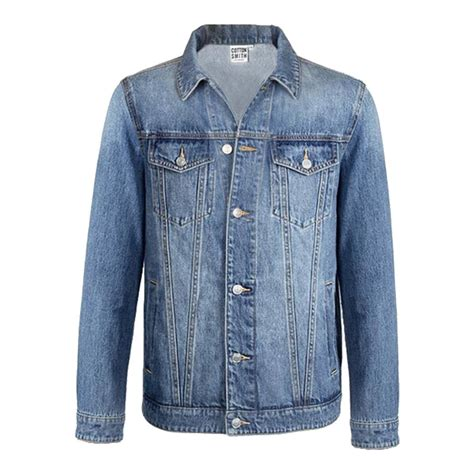 Lapel Denim Jacket xiaomi cottonsmith lapel cotton denim jacket size m