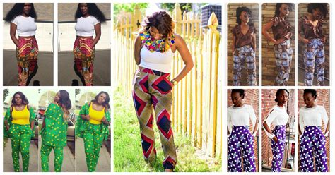 ankara trouser style ankara combination styles pants inspired