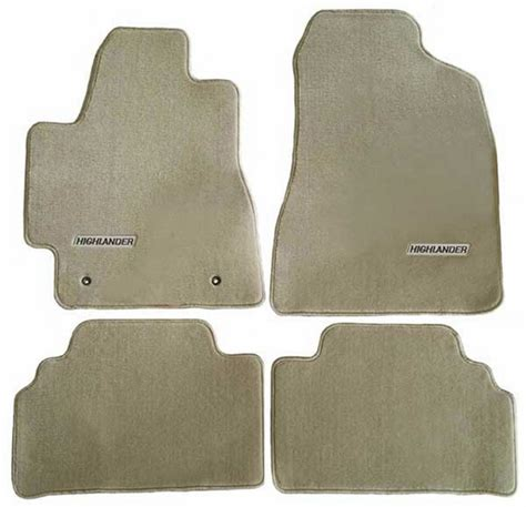 2005 Toyota Highlander Floor Mats by The Best New 2006 Toyota Highlander Hybrid Carpeted Floor
