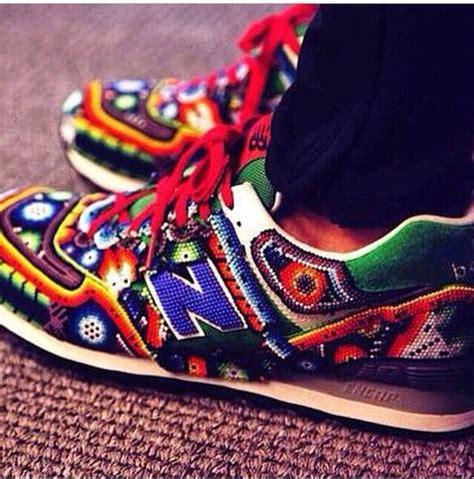 colorful new balances new balance aztec colorful wheretoget