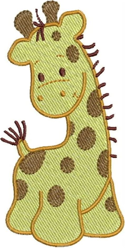 giraffe applique giraffe applique embroidery design fill designs