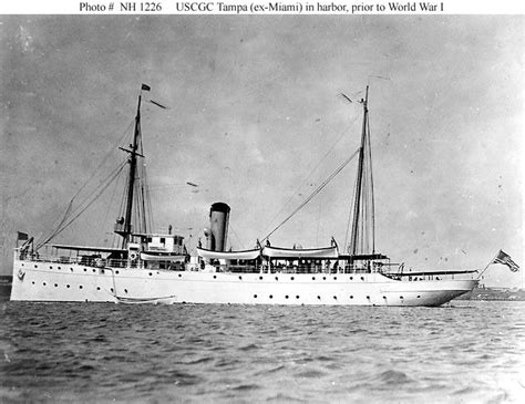 USS Tampa and other USN losses 1918 Algy