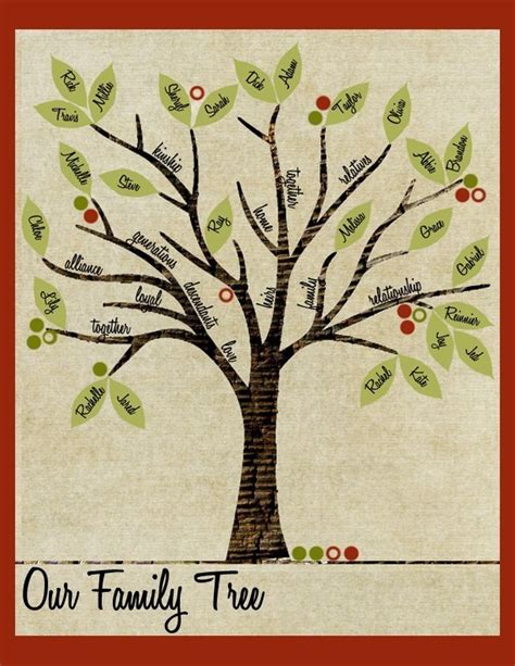 Handmade Family Tree Ideas - 1000 images about family tree ideas on owl