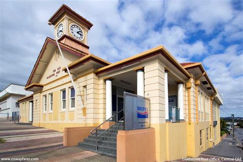 Gladstone Post Office by Queensland Post Offices Heritage Buildings Os Wayfarer