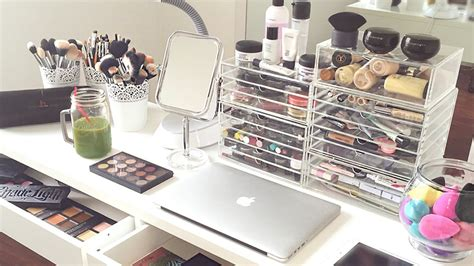 Bedroom Dresser Decoration Ideas my makeup collection and storage 2015