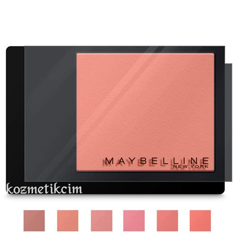 Maybelline Blush On maybelline master heat blush all箟k