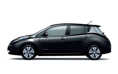 leaf nissan black revised nissan leaf japanese spec black photo 12