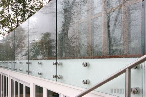 Glass Banister Cost Glass Railing System Massagroup Co