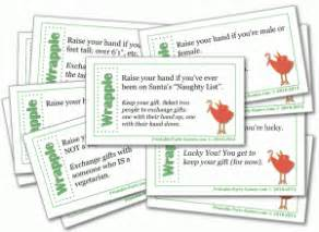 Wrapple christmas gift exchange game adult and office christmas party