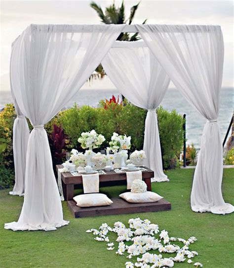 Garden Wedding Decoration Ideas 28 Outdoor Wedding Decoration Ideas Wedding Decorations