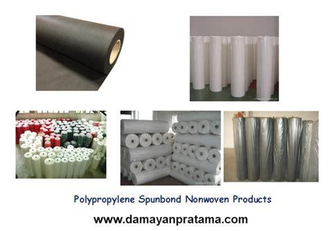 Kain Spunbond Per Meter cv damayan pratama polypropylene spunbond nonwoven