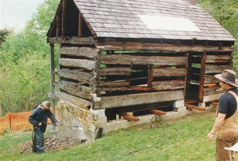 Foundation For Log Cabin by New Log Cabin With Historic Clapboards