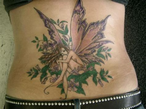 fairy back tattoo designs beautiful tattoos designs design