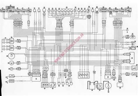 yamaha fz 750 wiring diagram wiring diagram with description