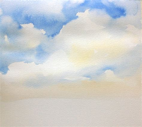 acrylic paint sky the sky s the limit how to paint the sky in watercolor