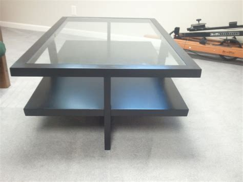 modern glass coffee table sets beautiful black
