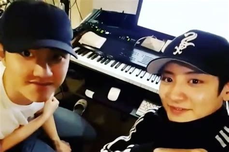 chanyeol updates his soundcloud with a beautiful cover and exo s chanyeol and d o cover justin bieber s love