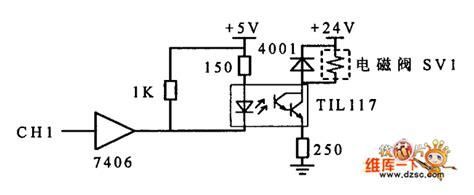 solenoid valve circuit diagram solenoid valve drive circuit diagram lifier circuit