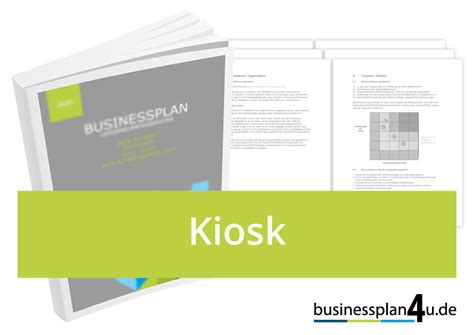 sle business plan kiosk kiosk businessplan download muster kostenlos