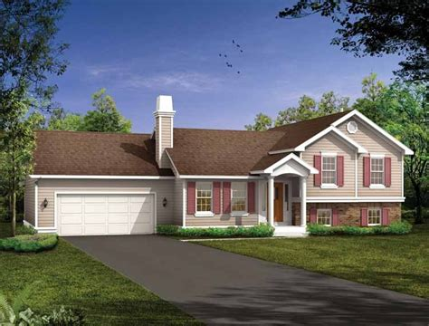 tri level home designs split level house plans at eplans house design plans