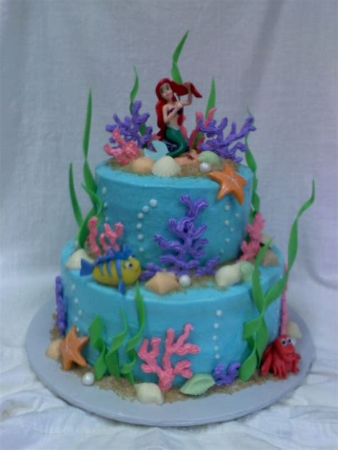 Ariel Cake Decorations by 1000 Images About Ariel Cake On