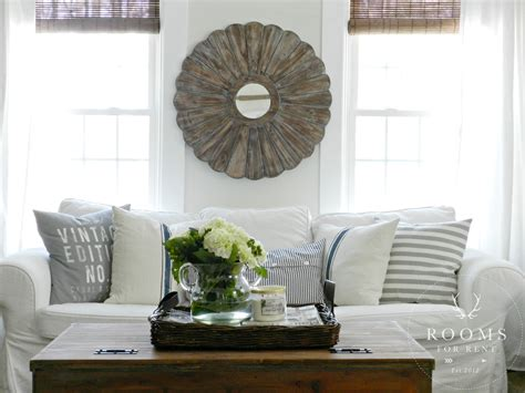 white slipcovered sectional sofa creating a space you love city farmhouse