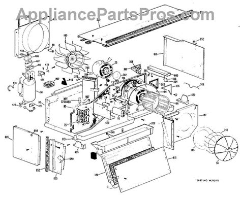 parts for ge a2b358dcenra section2 parts appliancepartspros