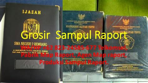 Map Raport Ijazah K13 082 324 585 677 percetakan sul raport k13 di rembang