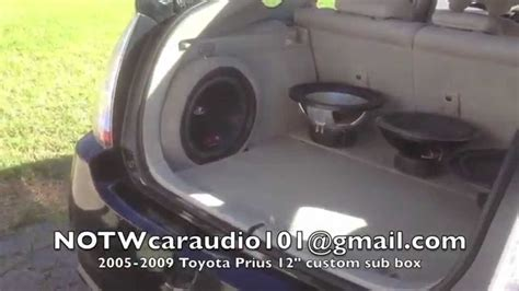 ebay local pickup 05 09 toyota prius custom sub enclosures for sale on ebay