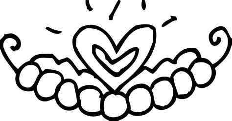 simple crown coloring page simple crown coloring pages