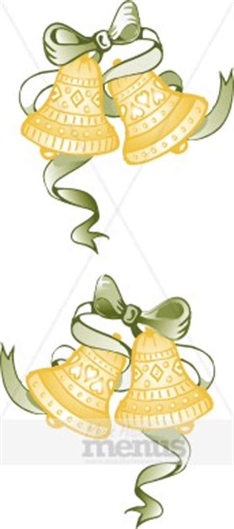 Wedding Bell Blues Year by Gold Bells Clipart Wedding Clipart