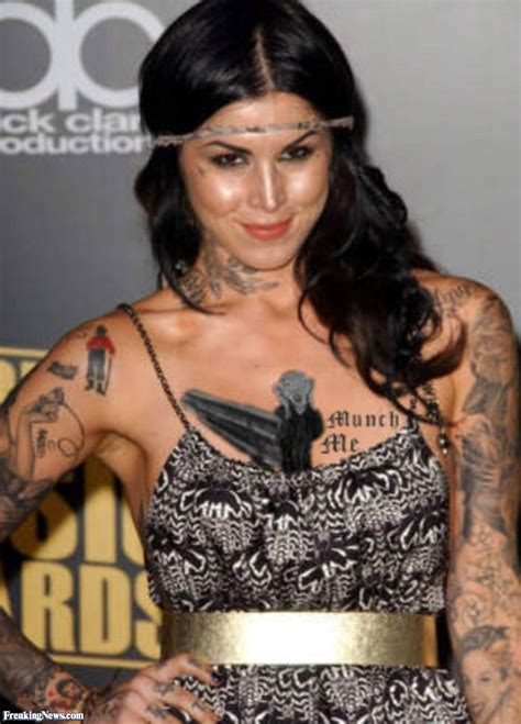 kat von d s tattoos d s new munch pictures freaking news